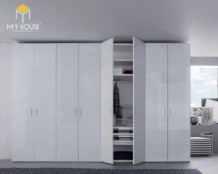 Tủ quần áo thiết kế hiện đại ấn tượng - M4
