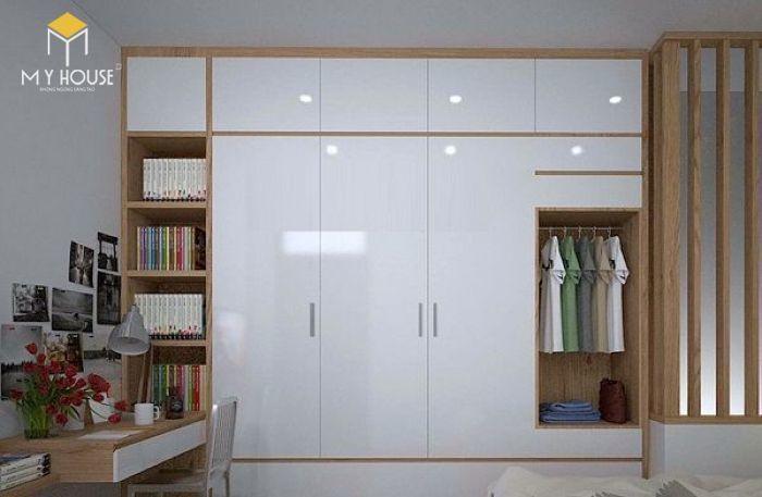 Tủ quần áo thiết kế hiện đại ấn tượng - M3