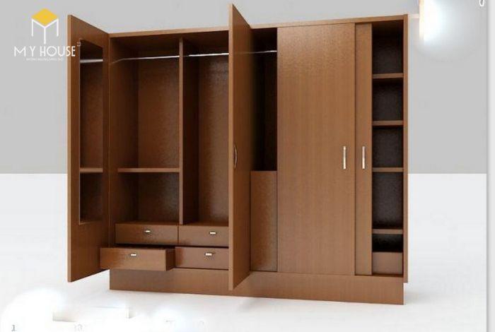Tủ quần áo thiết kế hiện đại ấn tượng - M2