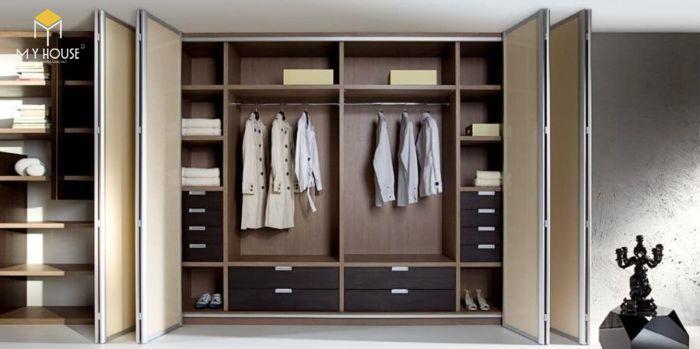 Tủ quần áo thiết kế hiện đại ấn tượng - M1