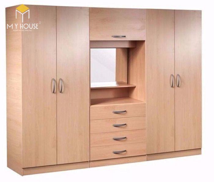 Tủ quần áo thiết kế hiện đại ấn tượng - M6