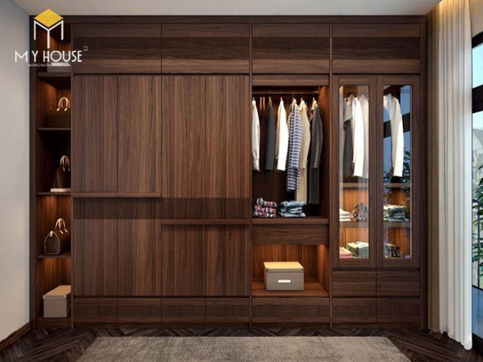 Tủ quần áo thiết kế hiện đại ấn tượng - M5