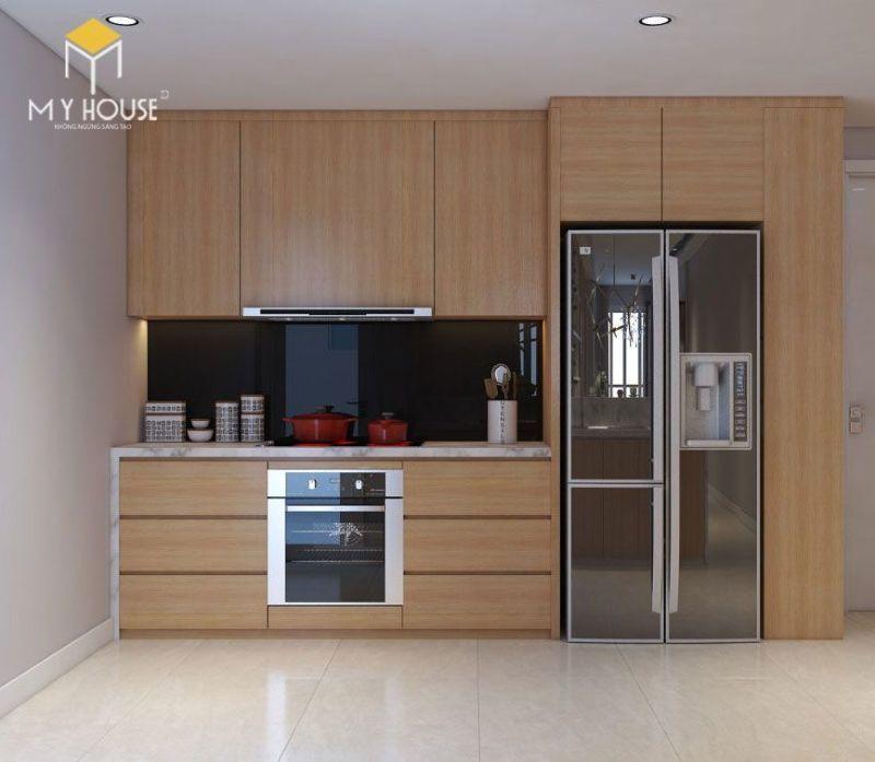 Mẫu tủ bếp đạt tiêu chuẩn chất lượng và thẩm mỹ - M1