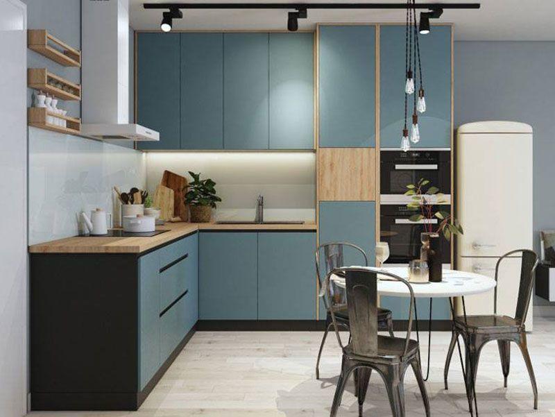 Mẫu tủ bếp đạt tiêu chuẩn chất lượng và thẩm mỹ - M2