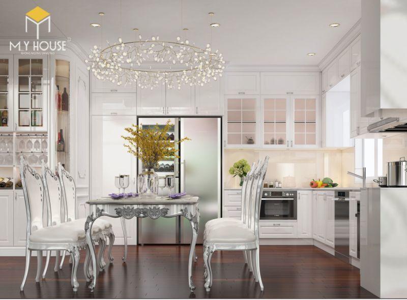 Mẫu tủ bếp đạt tiêu chuẩn chất lượng và thẩm mỹ - M8