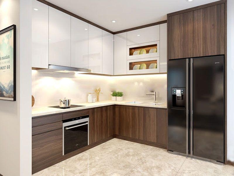 Mẫu tủ bếp đạt tiêu chuẩn chất lượng và thẩm mỹ - M4