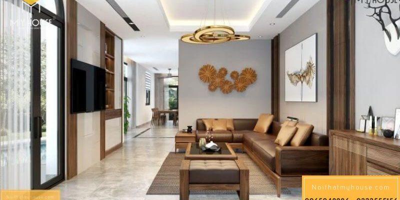 [Cập Nhật] 63 Mẫu Sofa gỗ nguyên khối sang trọng đẳng cấp