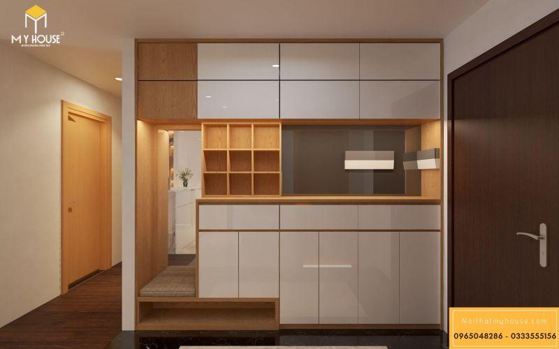 Mẫu thiết kế nội thất căn hộ hiện đại - View 6