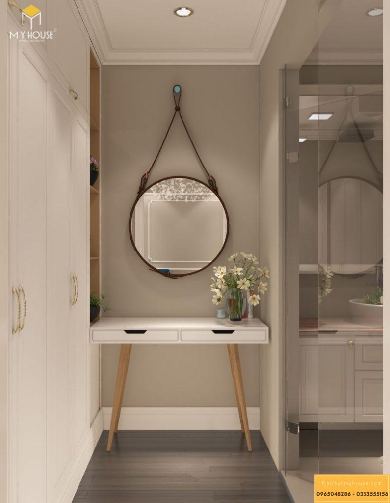Mẫu thiết kế nội thất căn hộ tân cổ điển - View 7