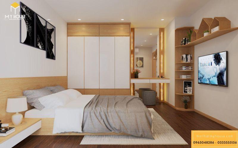 Mẫu thiết kế nội thất căn hộ hiện đại - View 8