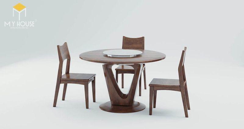 Bàn ghế ăn gỗ tự nhiên 2 người