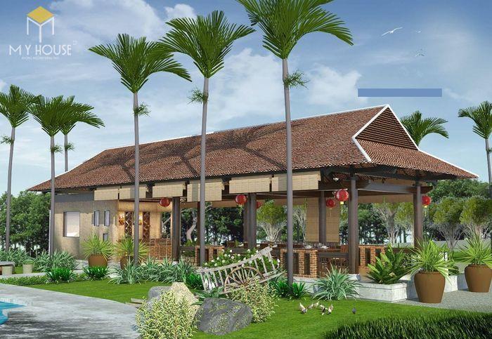 Bản vẽ nhà vườn nghỉ dưỡng