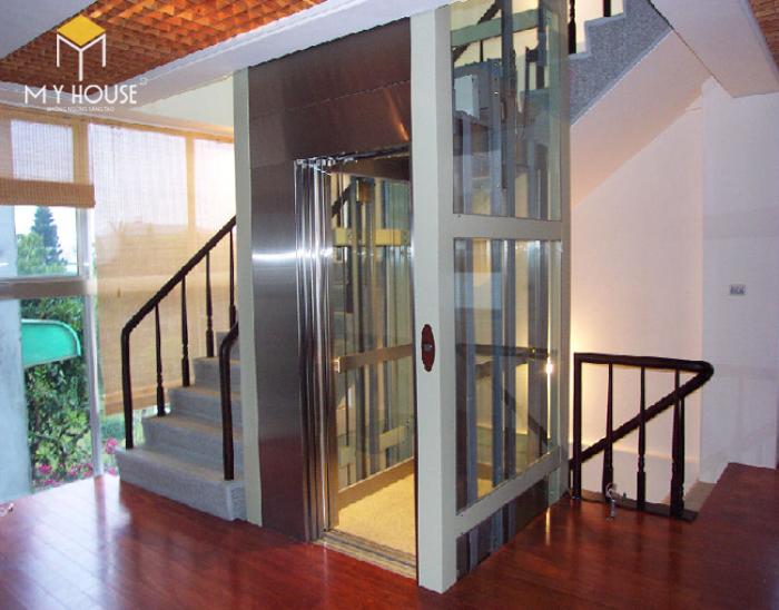 Mẫu thang máy giá đình - M3