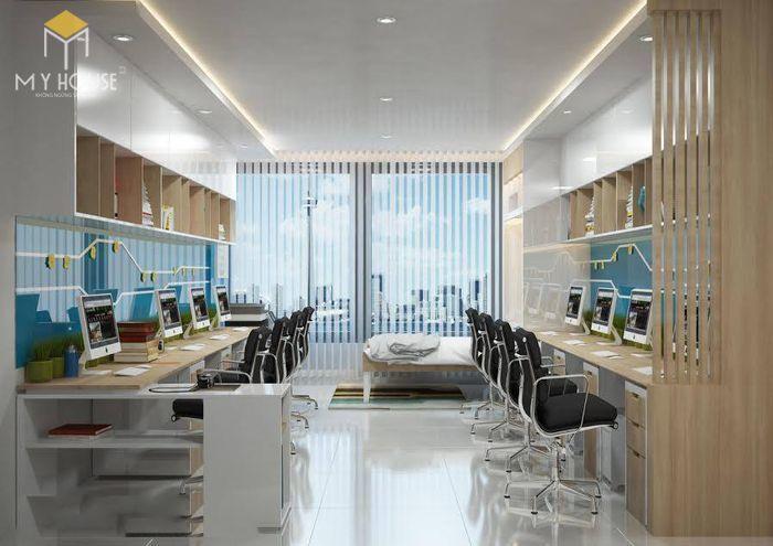 Các mẫu căn hộ Officetel được cung cấp các tiện ích văn phòng như lối đi riêng biệt, thang máy chuyên biệt