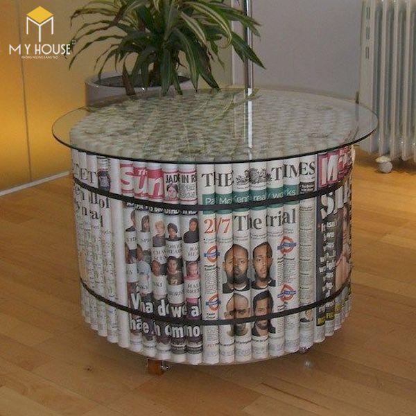 Ý tưởng làm bàn ghế handmade - Mẫu 1