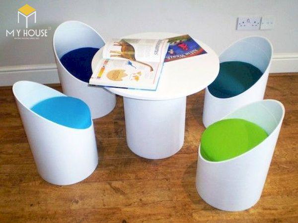 Ý tưởng làm bàn ghế handmade - Mẫu 11
