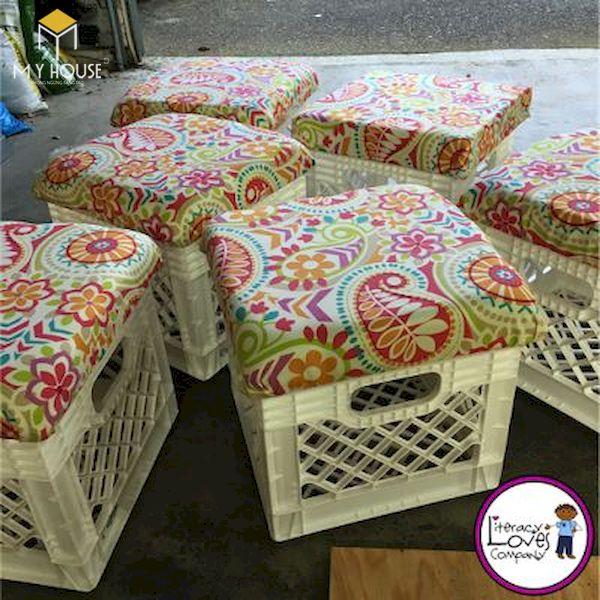 Ý tưởng làm bàn ghế handmade - Mẫu 7