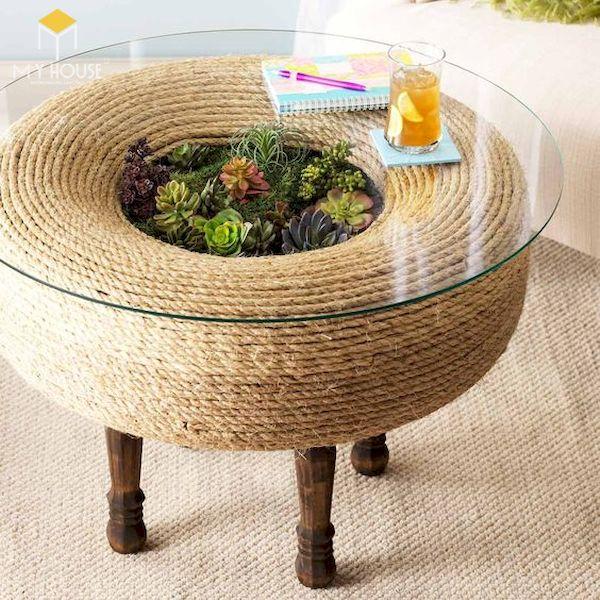 Ý tưởng làm bàn ghế handmade - Mẫu 8