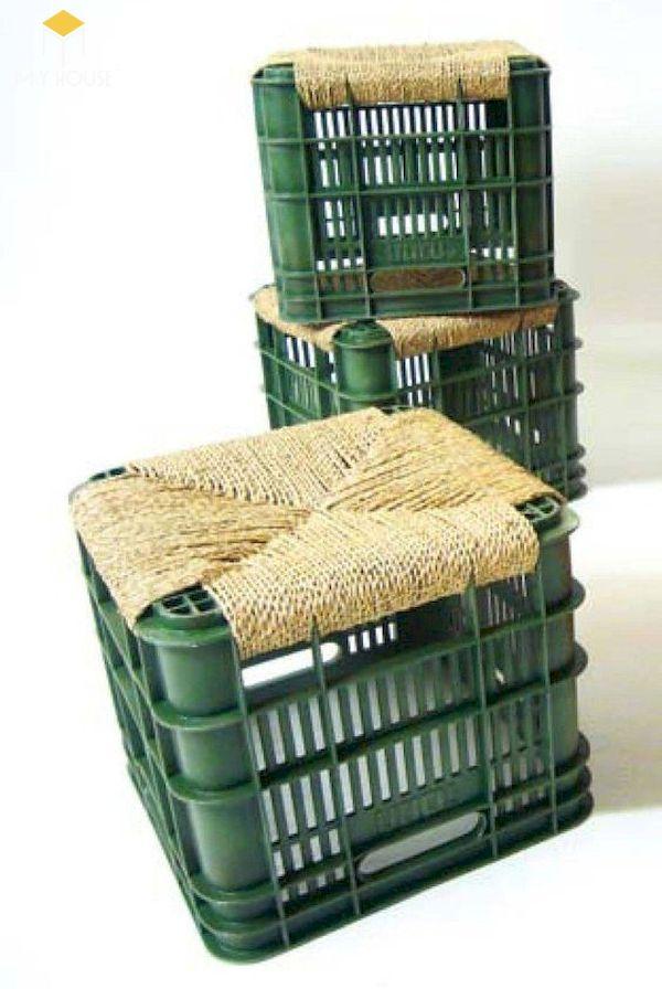 Ý tưởng làm bàn ghế handmade - Mẫu 10