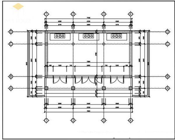 Bản vẽ thiết kế nhà thờ họ đẹp - View 9