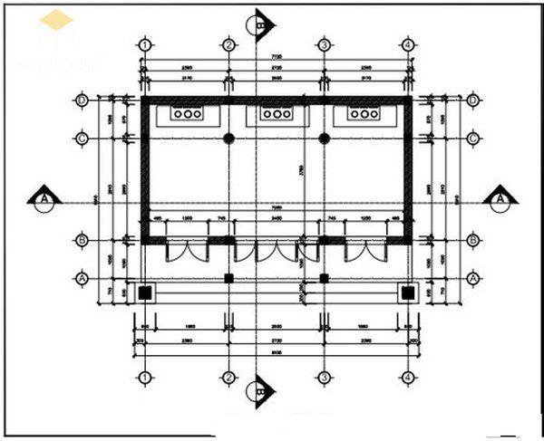 Bản vẽ thiết kế nhà thờ họ đẹp - View 8