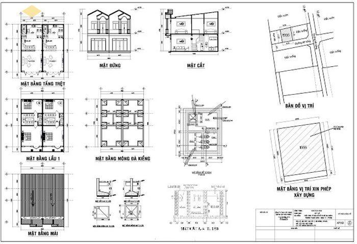 Cách đọc bản vẽ xây dựng 1