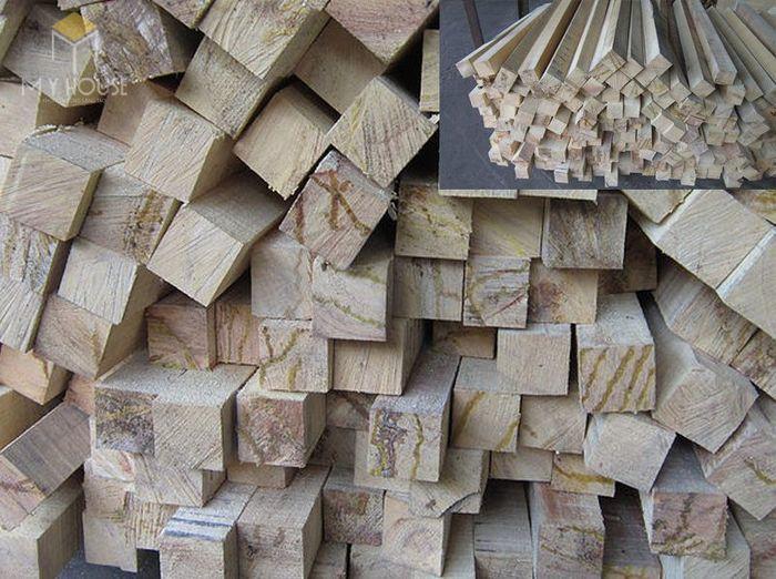Công thức tính mét khối gỗ hình vuông