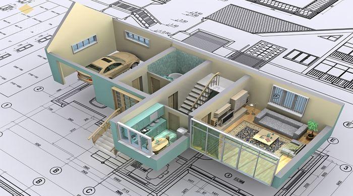 Vai trò của thiết kế kết cấu nhà phố