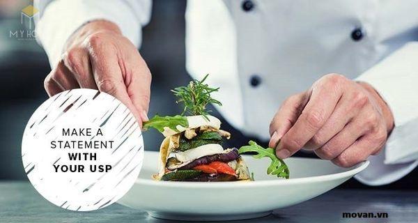 Dịch vụ ăn uống là một yếu tố quan trọng trong mỗi đơn vị khách sạn