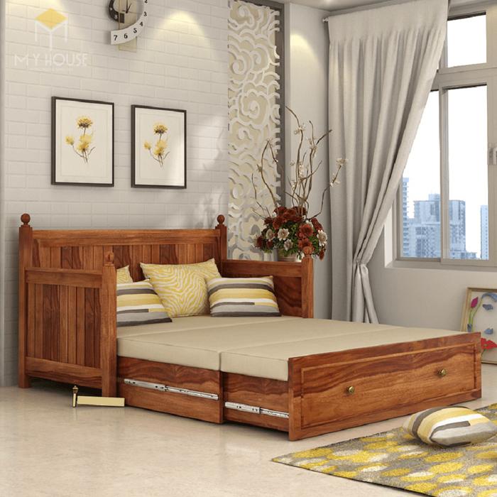 Ghế sofa léo thành giường hiện đại thông minh - Mẫu 12
