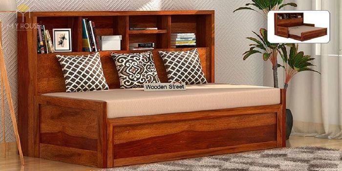 Ghế sofa léo thành giường hiện đại thông minh - Mẫu 14