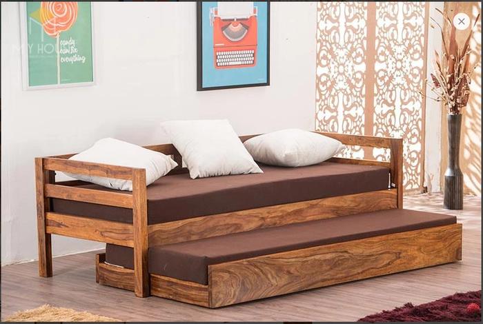 Ghế sofa léo thành giường hiện đại thông minh - Mẫu 13