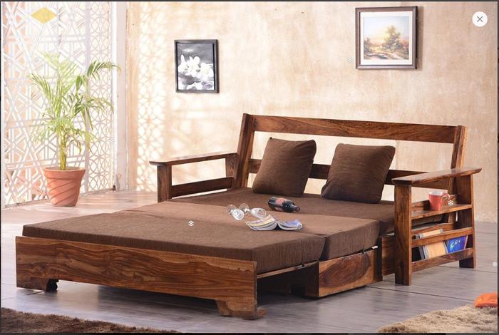 Ghế sofa léo thành giường hiện đại thông minh - Mẫu 3