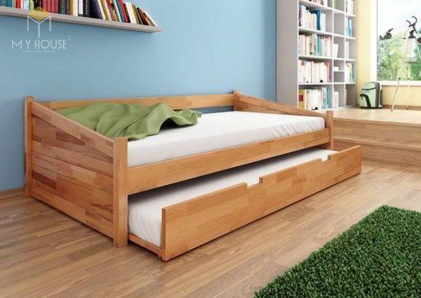 Ghế sofa gỗ kéo ra thành giường 20