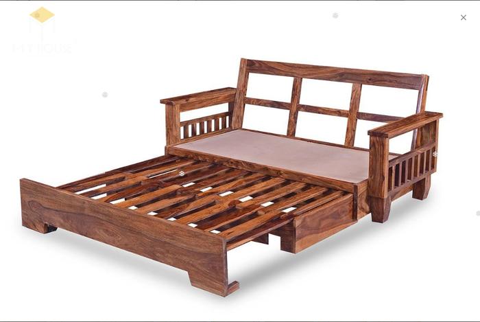 Ghế sofa léo thành giường hiện đại thông minh - Mẫu 10