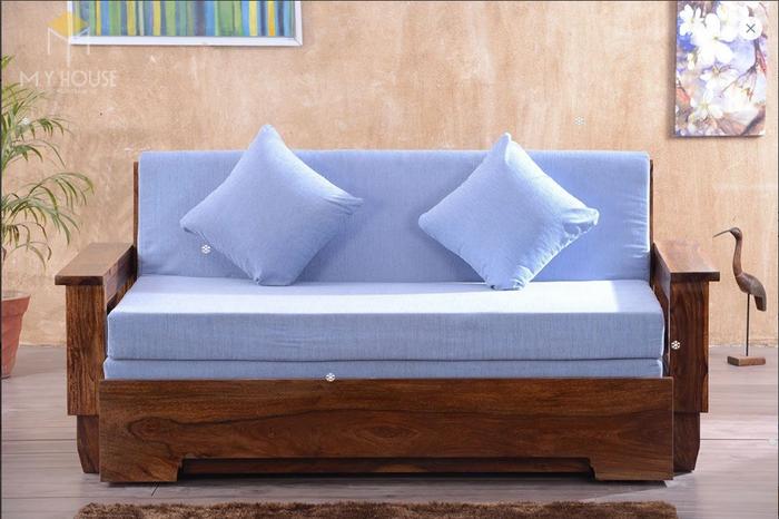 Ghế sofa léo thành giường hiện đại thông minh - Mẫu 16