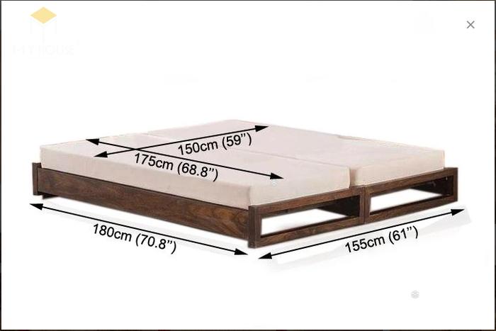 Ghế sofa léo thành giường hiện đại thông minh - Mẫu 7