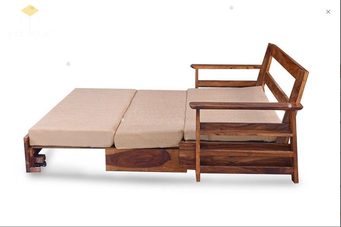 Ghế sofa léo thành giường hiện đại thông minh - Mẫu 5