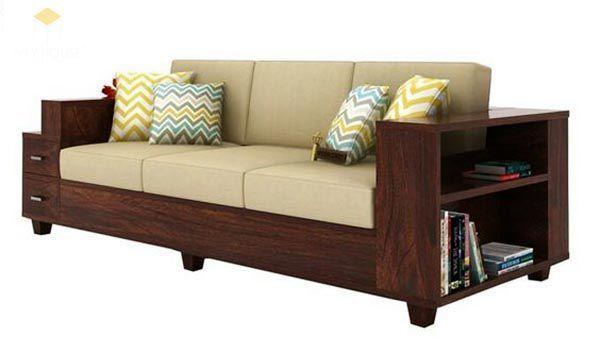 Ghế sofa gỗ kéo ra thành giường 18