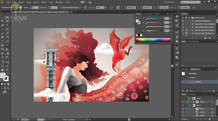 Adobe Illustrator là một chương trình vẽ vector