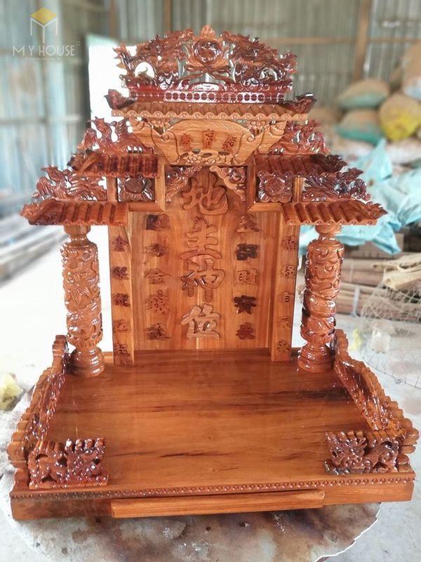 Kích thước bàn thờ thần tài chuẩn thước lỗ ban