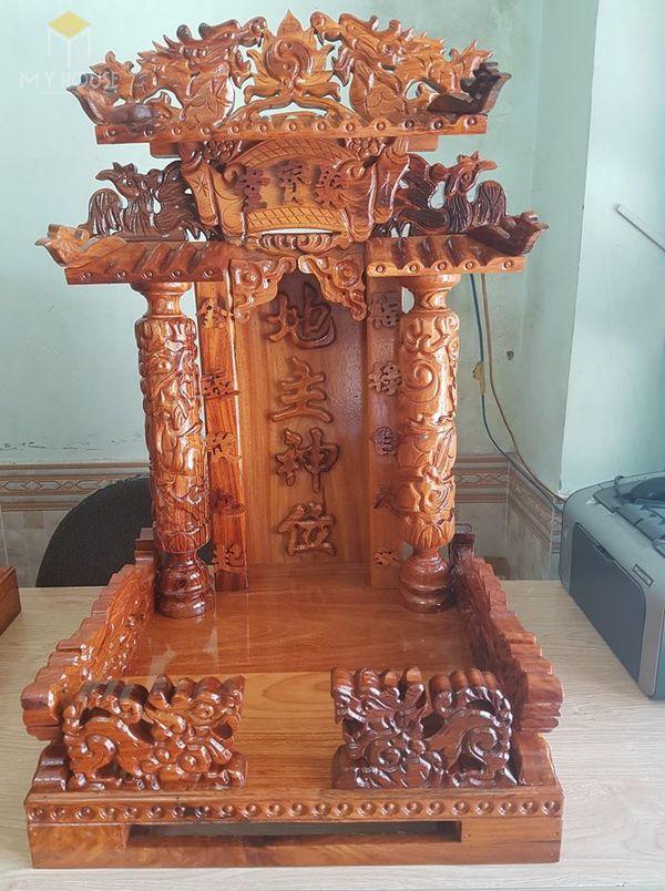 Thiết kế bàn thờ ông địa phổ biến hiện nay - Mẫu 14