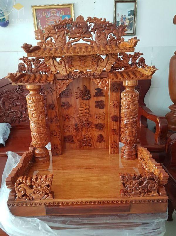 Thiết kế bàn thờ ông địa phổ biến hiện nay - Mẫu 15