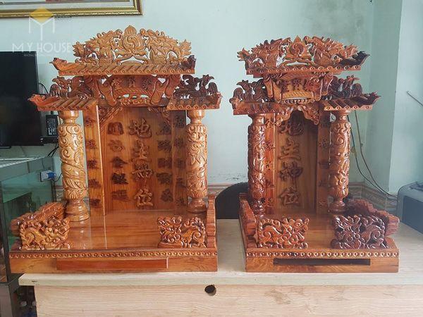 Thiết kế bàn thờ ông địa phổ biến hiện nay - Mẫu 17