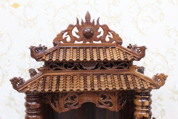 Thiết kế bàn thờ ông địa phổ biến hiện nay - Mẫu 3