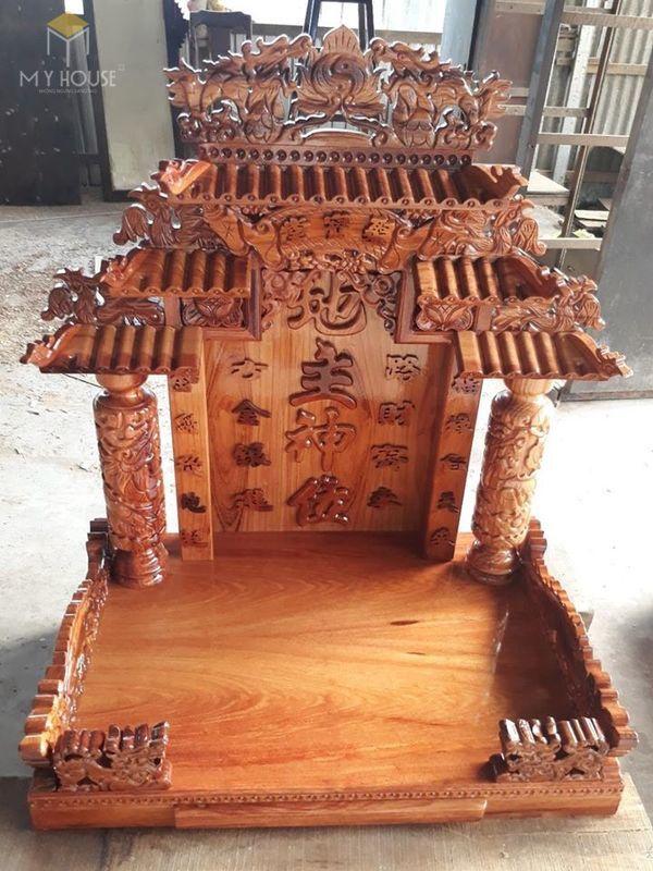 Thiết kế bàn thờ ông địa phổ biến hiện nay - Mẫu 18