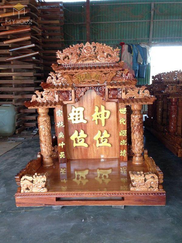 Thiết kế bàn thờ ông địa phổ biến hiện nay - Mẫu 1