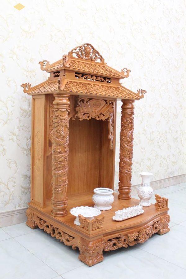 Thiết kế bàn thờ ông địa phổ biến hiện nay - Mẫu 8