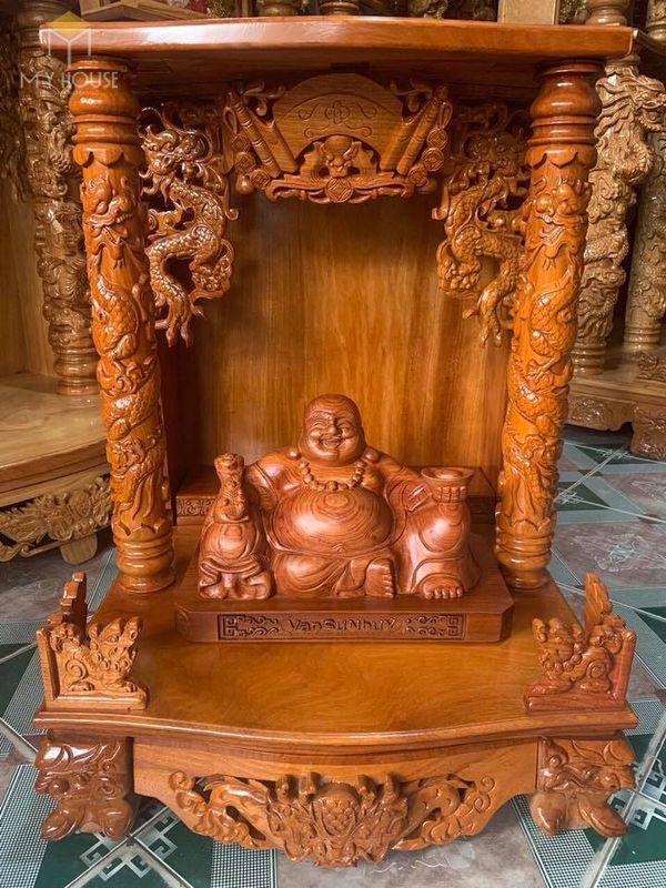 Thiết kế bàn thờ ông địa phổ biến hiện nay - Mẫu 11