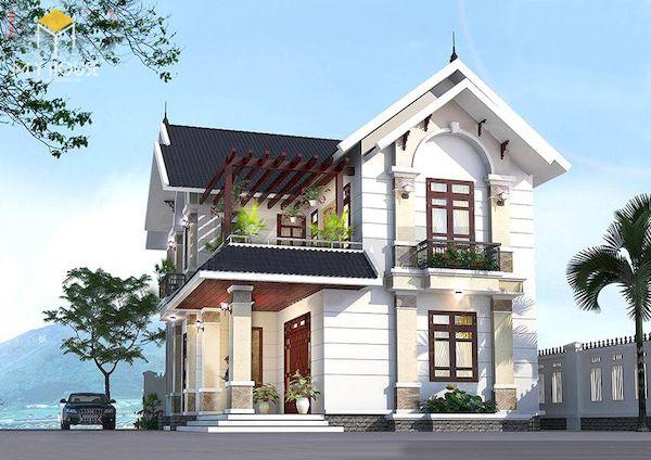 Mẫu sơn nhà đẹp - Ảnh 2